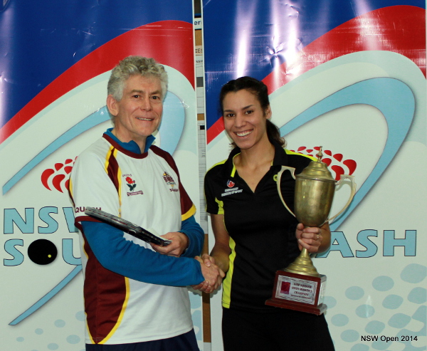Christine Nunn savours her success at Thornleigh