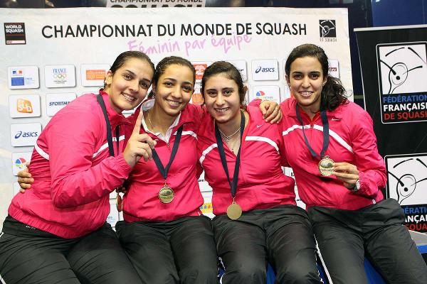 Egypt's golden girls