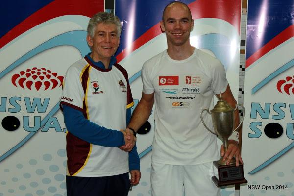 Piedro Schweertman receives his trophy