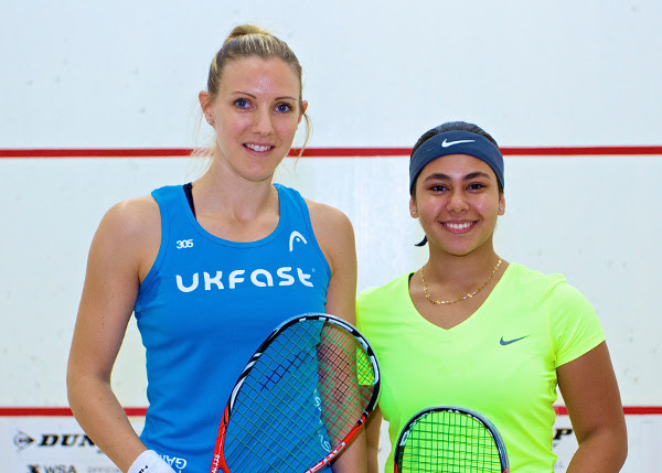 Laura Massaro and Salma Hany Ibrahim