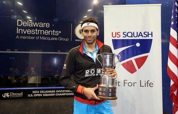 US Open champion Mohamed Elshorbagy