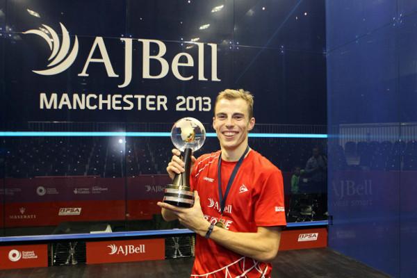 World champion Nick Matthew savours his success in Manchester last year