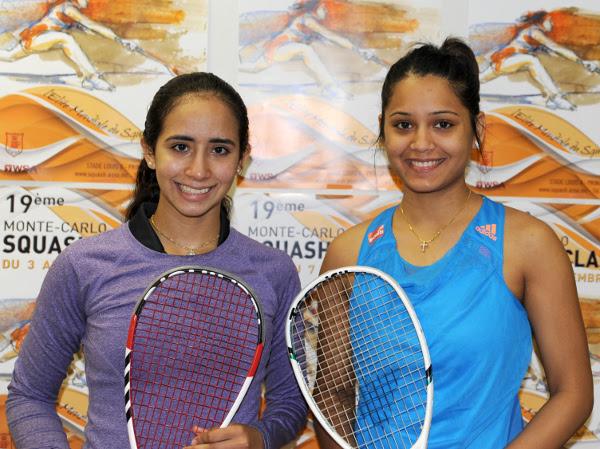 Nouran Gohar and Dipika Pallikal
