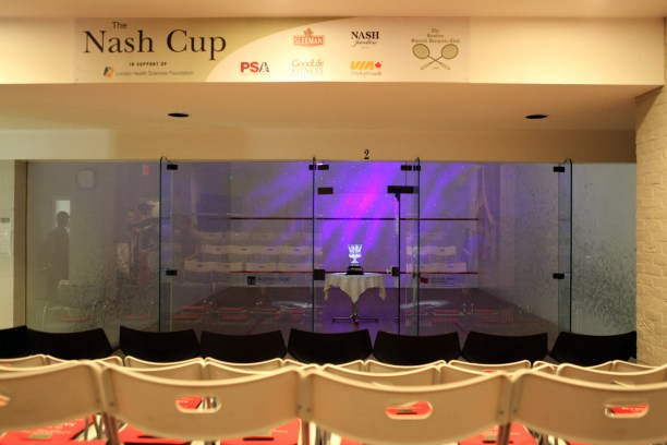 London Squash Club, home of the Nash Cup