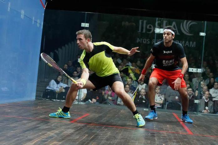 Mathieu Castagnet attacks against Mohamed Elshorbagy