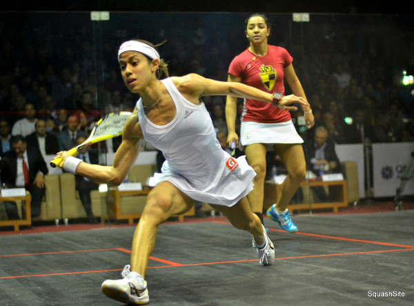 Nicol David fights back to beat Raneem El Welily in an astonishing final in Cairo