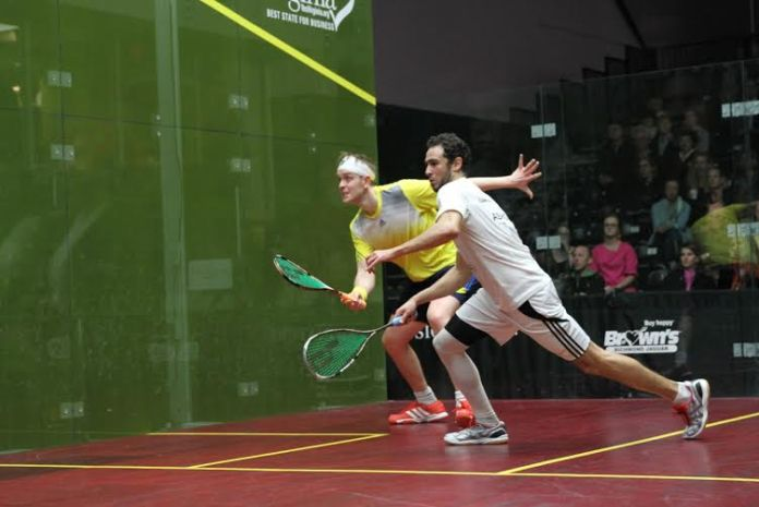 Ramy Ashour and James Willstrop will both be in action in Sweden