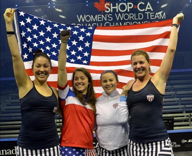 Team USA celebrate their victory