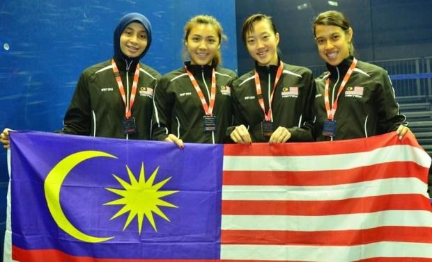Malaysia win silver in Canada