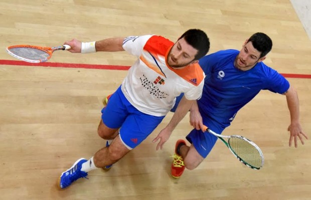 Daryl Selby in action at Edinburgh