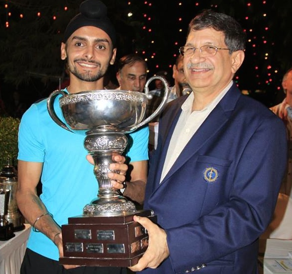 Harinder wins the Indian national title for the first time