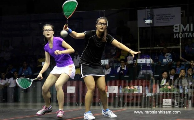 Rachel Arnold outplays Choi Uen Shan to give Malaysia the lead