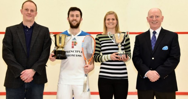Edinburgh champions Daryl Selby and Fiona Moverley