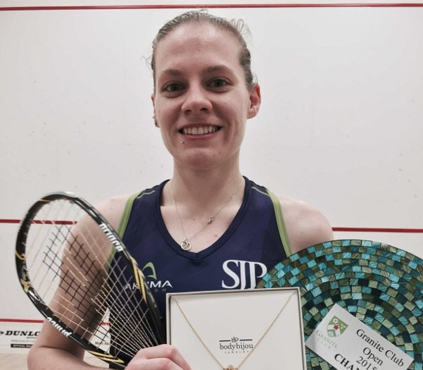 Winning is becoming a habit for Sarah-Jane Perry