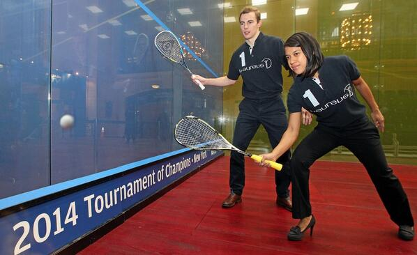 Nick Matthew and Nicol David, two champions who never lose their hunger