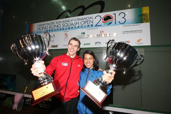 Nick and Nicol, champions together in Hong Kong