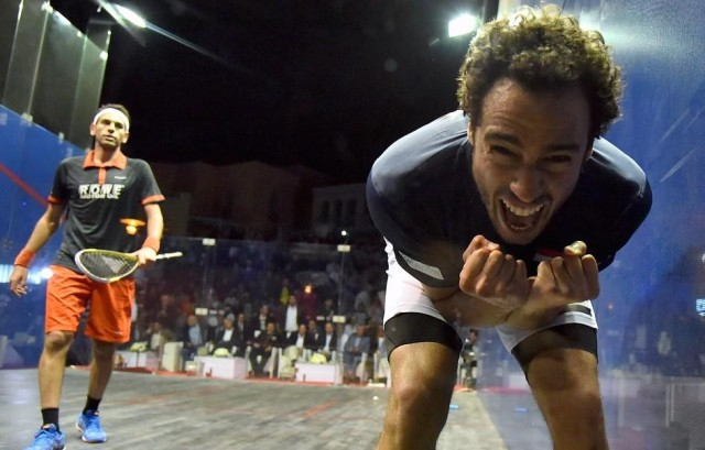 Ramy Ashour savours his moment of success