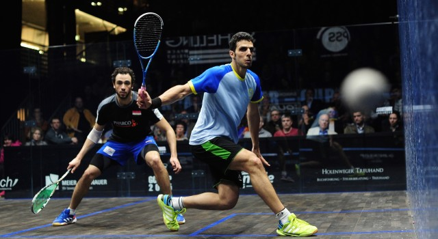 Quality control down the backhand line from Omar Mosaad
