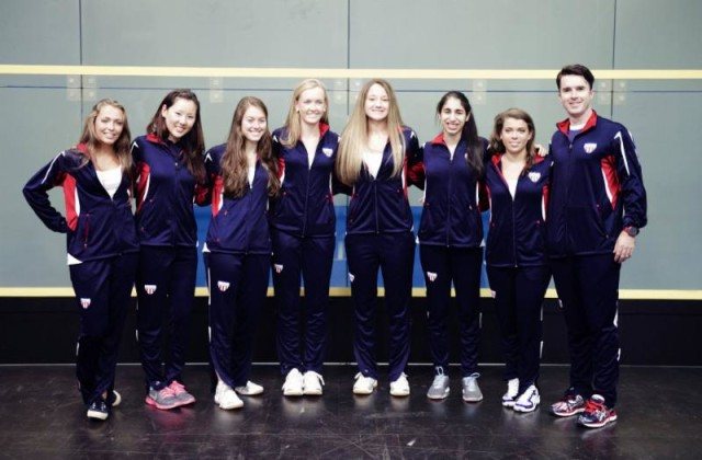 The Team USA junior women's team who finished second in 2013