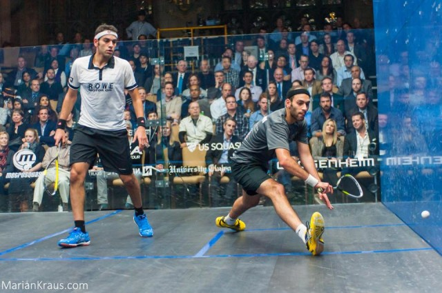 Brothers Mohamed and Marwan Elshorbagy are upbeat about squash's Olympic bid