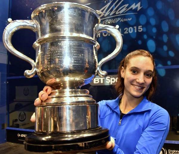 Camille Serme wins the British Open