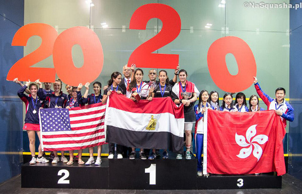 Egypt celebrate in Poland, and support the Olympic bid!
