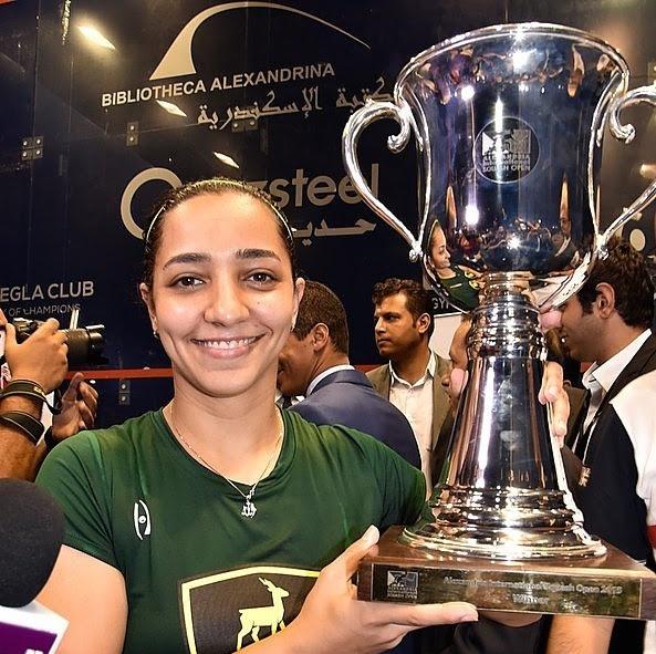 Champion! Raneem El Welily wins in Alexandria