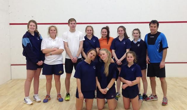 The girls at St Anne's love squash