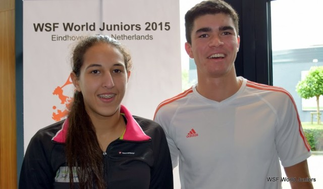 Reigning champions Diego Elias and ccc Mohamed
