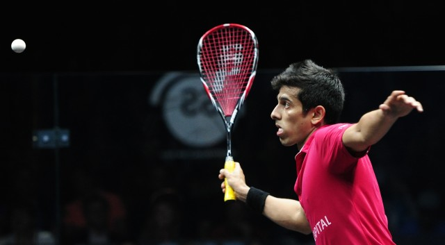 Indian number one Saurav Ghosal. Picture by IRENA VANISOVA