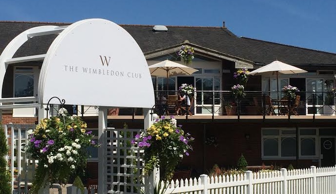 The Wimbledon Club is a classy venue for sport