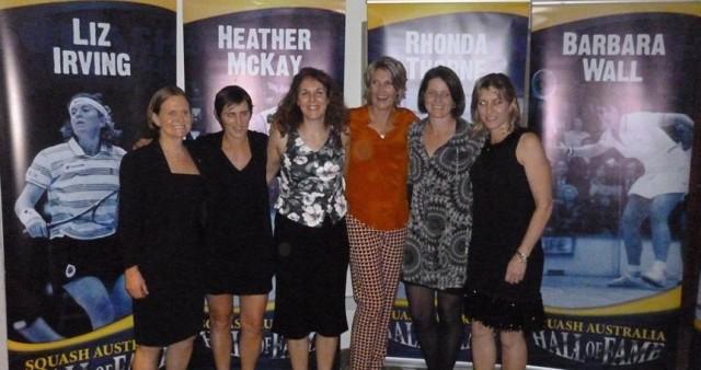 Vicki Cardwell, Rachael Grinham, Cassie Thomas, Michelle Martin, Carol Owens.and Sarah Fitz-Gerald