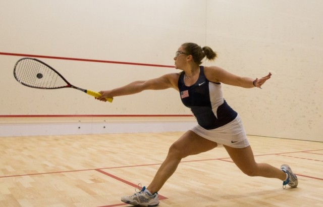 Olivia Blatchford is through to the San Francisco quarter-finals