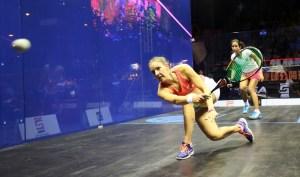 Laura Massaro overpowered Nouran Gohar in the final