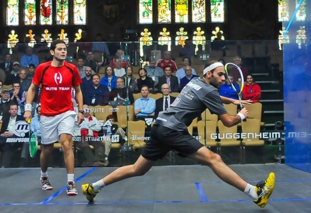 Marwan Elshorbagy plays Karim Gawad in Chicago