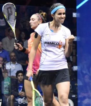 Nour El Tayeb triumphs over Camille Serme