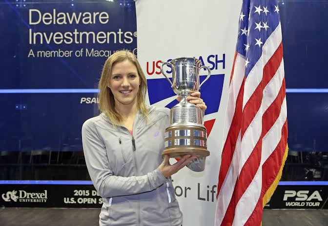 A second major title in month for Laura Massaro
