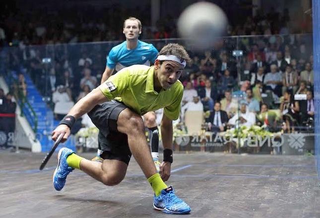 Mohamed Elshorbagy beats Gregory Gaultier in the Qatar final