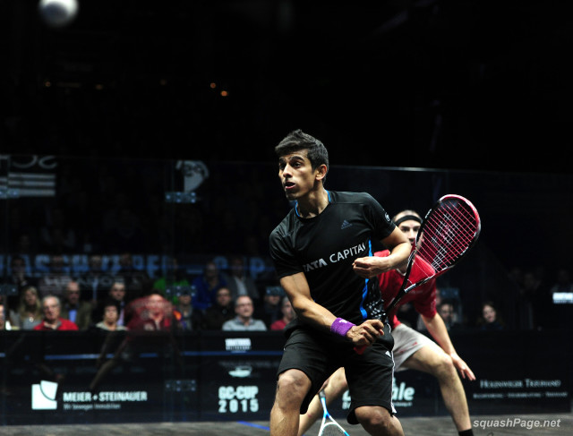 Indian number one Saurav Ghosal has pulled out