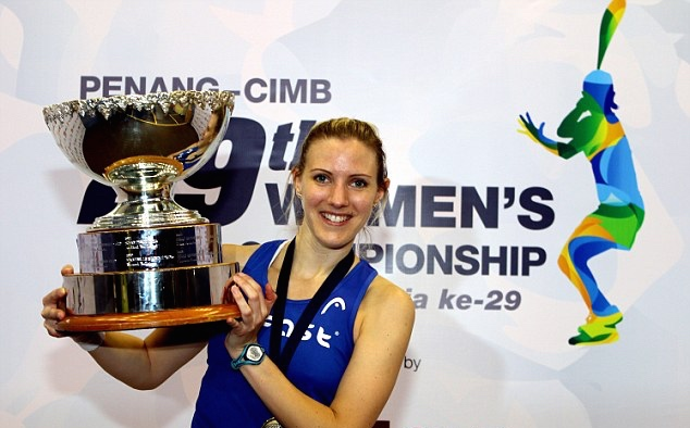 Laura Massaro won the world title in Penang