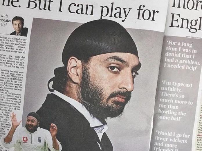 Antonio Petronzio's picture spread of cricketer Monty Panesar in The Times