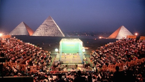 Plans are in hand to resurrect the tournament at the Great Pyramids