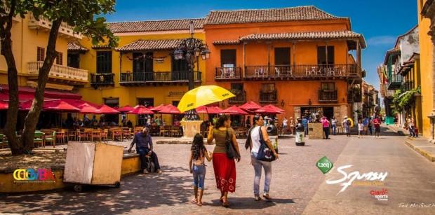 The venue in Cartagena