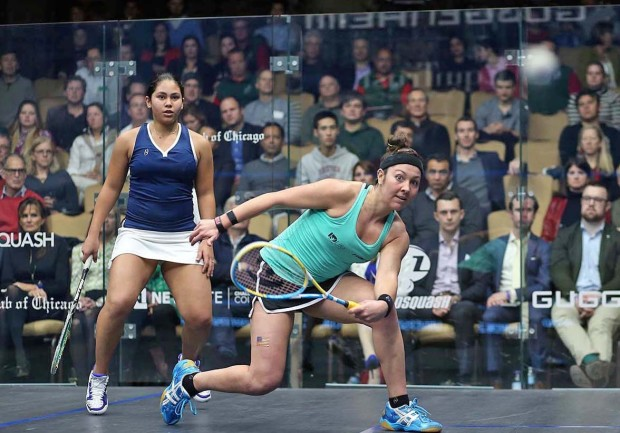 Amanda Sobhy breezes through the first round in the Windy City