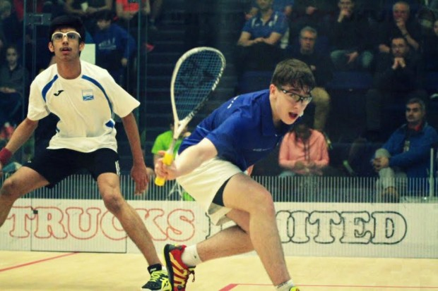 Alasdair Prott from Inverness in action