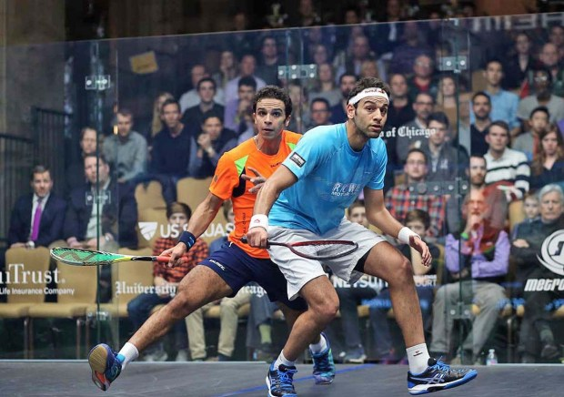 Mohamed Elshorbagy is top seed in the Allam British Open