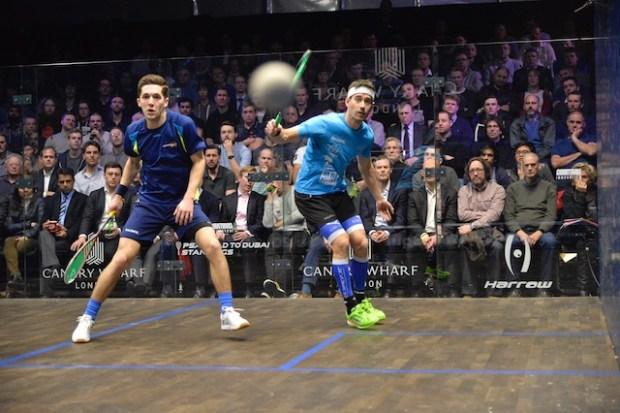 Borja Golan drives the ball past Ben Coleman