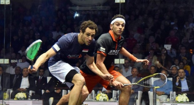 Ramy Ashour and British Open top seed Mohamed Elshorbagy