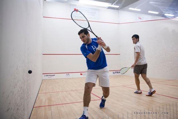 Karim Gawad wins a tough quarter-final