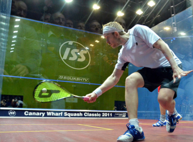 James Willstrop loves playing at Canary Wharf